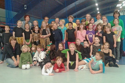 Kindertanzgruppe 2015